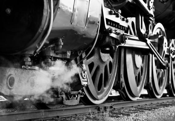 Train Wheels 1920